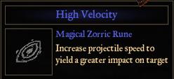 RuneHighVelocity