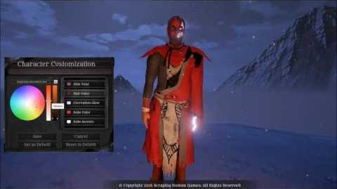 Fictorum Character Customization