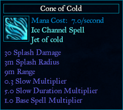 SpellConeOfCold
