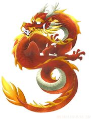 Chinese Dragon by DNK Anais