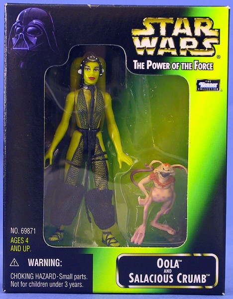 1997 Star Wars Power of the Force Holo Bossk bounty hunter g3