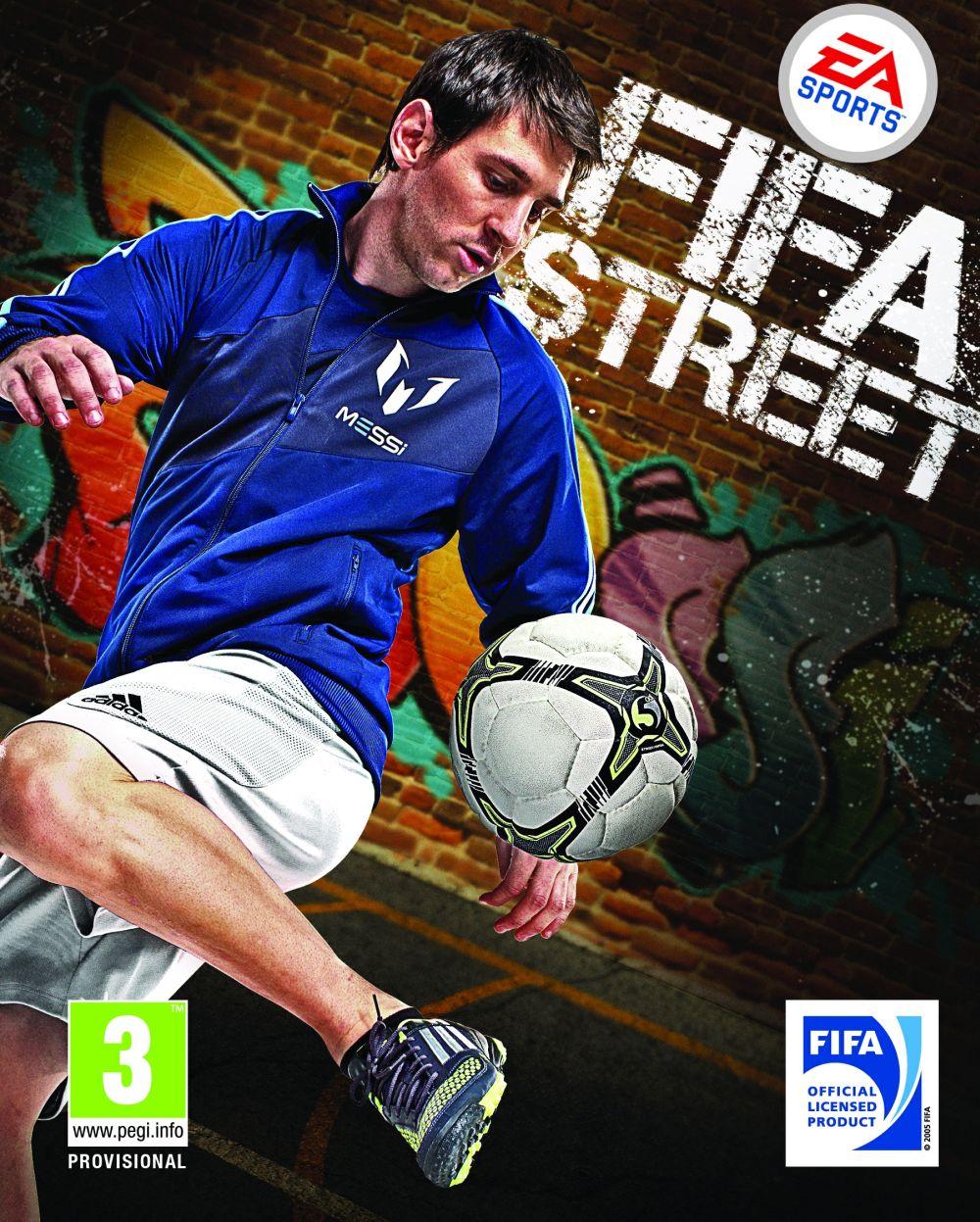 Fifa street para playstation 2 footballers of the year fifa