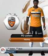 Lorient home