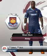 31. west ham away