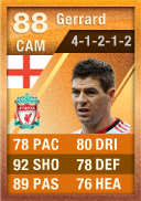 MOTM Steven Gerrard (IF2) 88