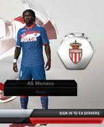 Monaco away