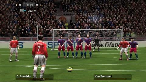 Free Kicks from FIFA 94 to 17