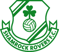 Shamrock Rovers FC logo.