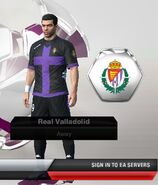 42. valladolid away