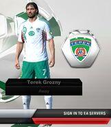 Grozny away