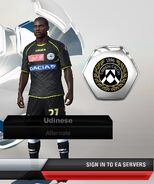 Udinese alternate