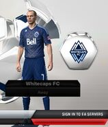Whitecaps away