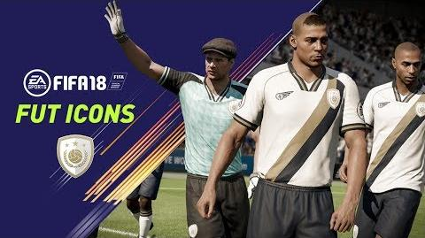 FIFA 18 FUT ICONS Ronaldo Nazário, Maradona, Henry, Yashin, Pelé