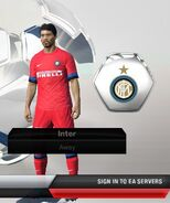 Inter away