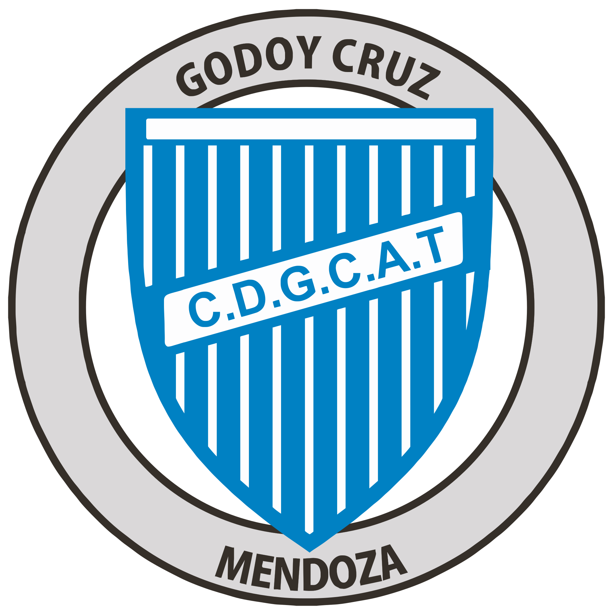 Escudo Del Club Godoy Cruz De Mendoza Png