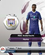 Anderlecht home