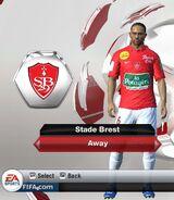 Brest away