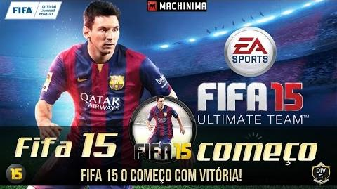 Fifa 15 - Ultimate Team com time Francês.