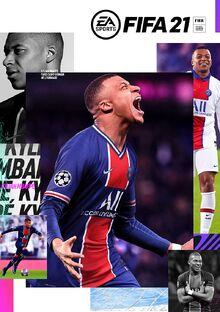 FIFA 21 Standard Edition Cover