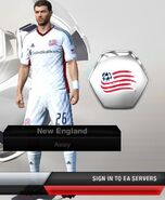 New england away