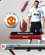 2. Man Utd Away kit