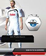 Paderborn away
