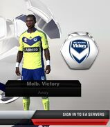 Melbourne victory away