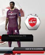 Valenciennes away