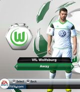 Wolfsburg away