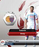 Catania away
