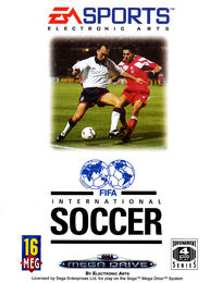 FIFA International Soccer EU SMD