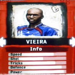 FIFA Street 2 Vieira