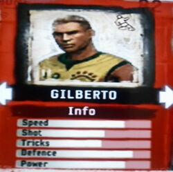 FIFA Street 2 Gilberto