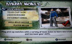 FIFA Street 2 Rule The Street Kick Abouts