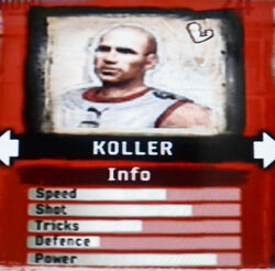 FIFA Street 2 Koller