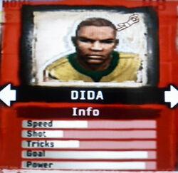 FIFA Street 2 Dida