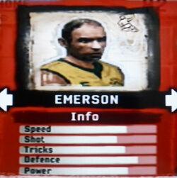 FIFA Street 2 Emerson