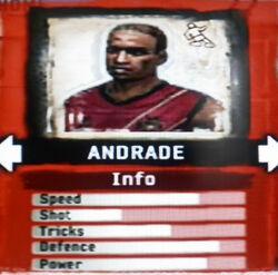 FIFA Street 2 Andrade