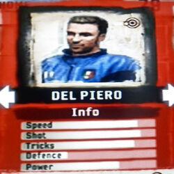 FIFA Street 2 Del Piero