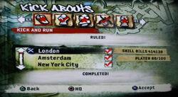 FIFA Street 2 Kick Abouts Kick and Run