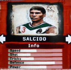 FIFA Street 2 Salcido