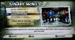 FIFA Street 2 Rule The Street Underground