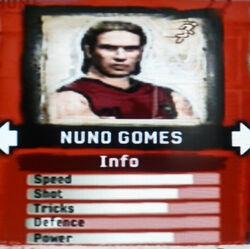 FIFA Street 2 Nuno Gomes