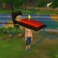 Obraz wykonany w grze The Sims 4 przez <a href=
