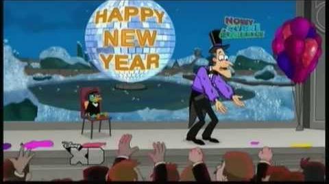 Fineasz i Ferb - Najszczęśliwszy czeka nas rok