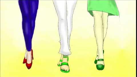 Złe Trio nogi