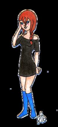 DS w sukience