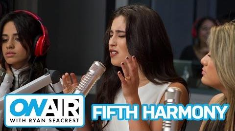 """Fifth Harmony """"I'm In Love With a Monster"""" (Acoustic) On Air with Ryan Seacrest"""