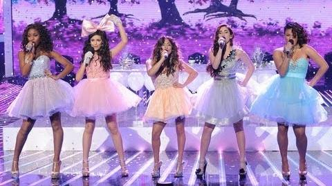 "Fifth Harmony ""Anything Could Happen"" - Live Week 7 Semifinal - The X Factor USA 2012"