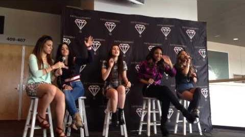 Fifth Harmony Acoustic Performance and Q&A - Grand Prairie,TX